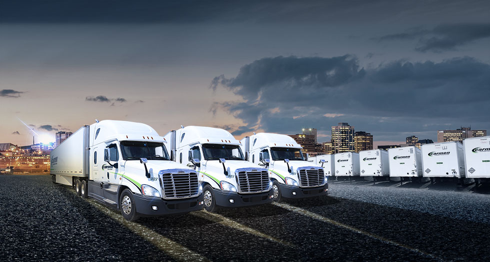 Carmen Transportation dedicated fleets